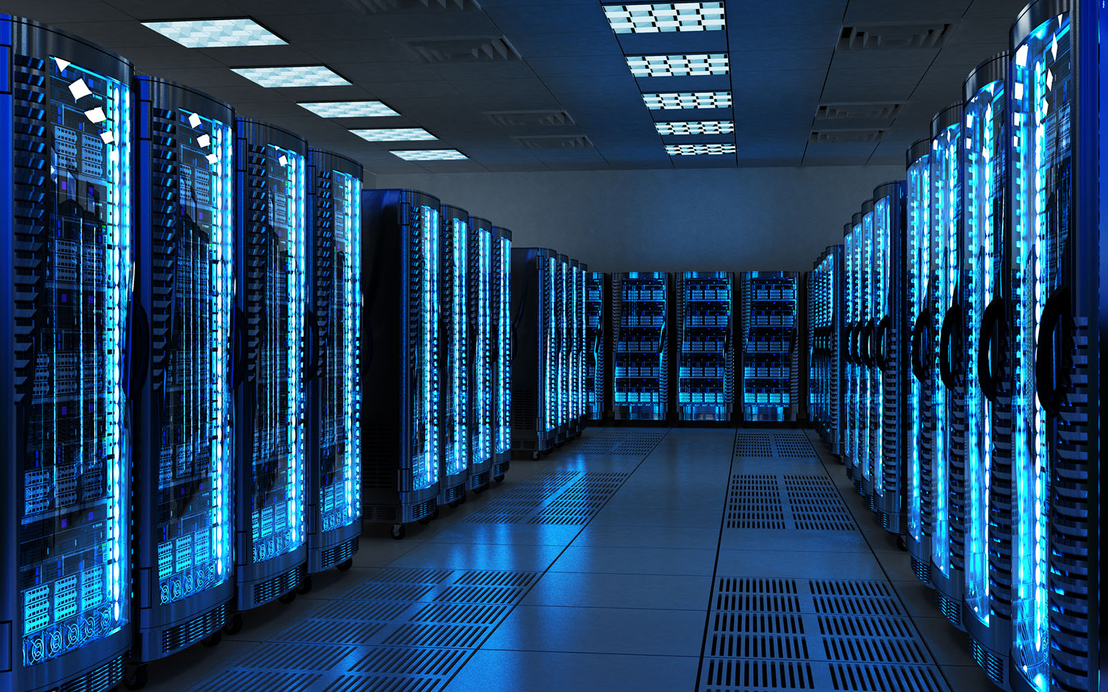 Image showing standard data center security best practice