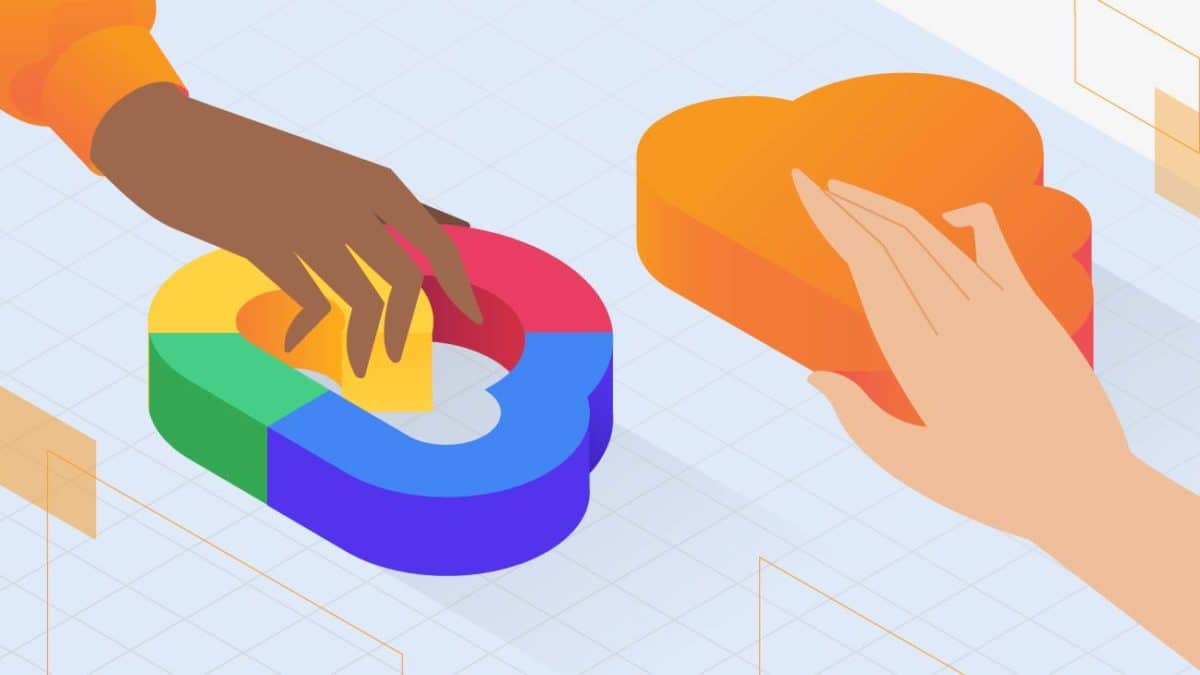Image illustrating Google Cloud Services vs Amazon Web Services