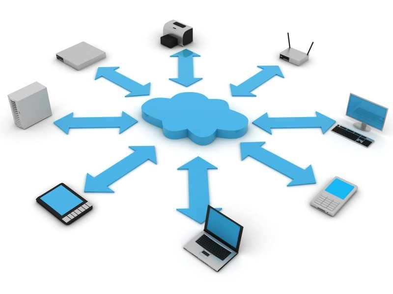 cloud computing vs cloud storage