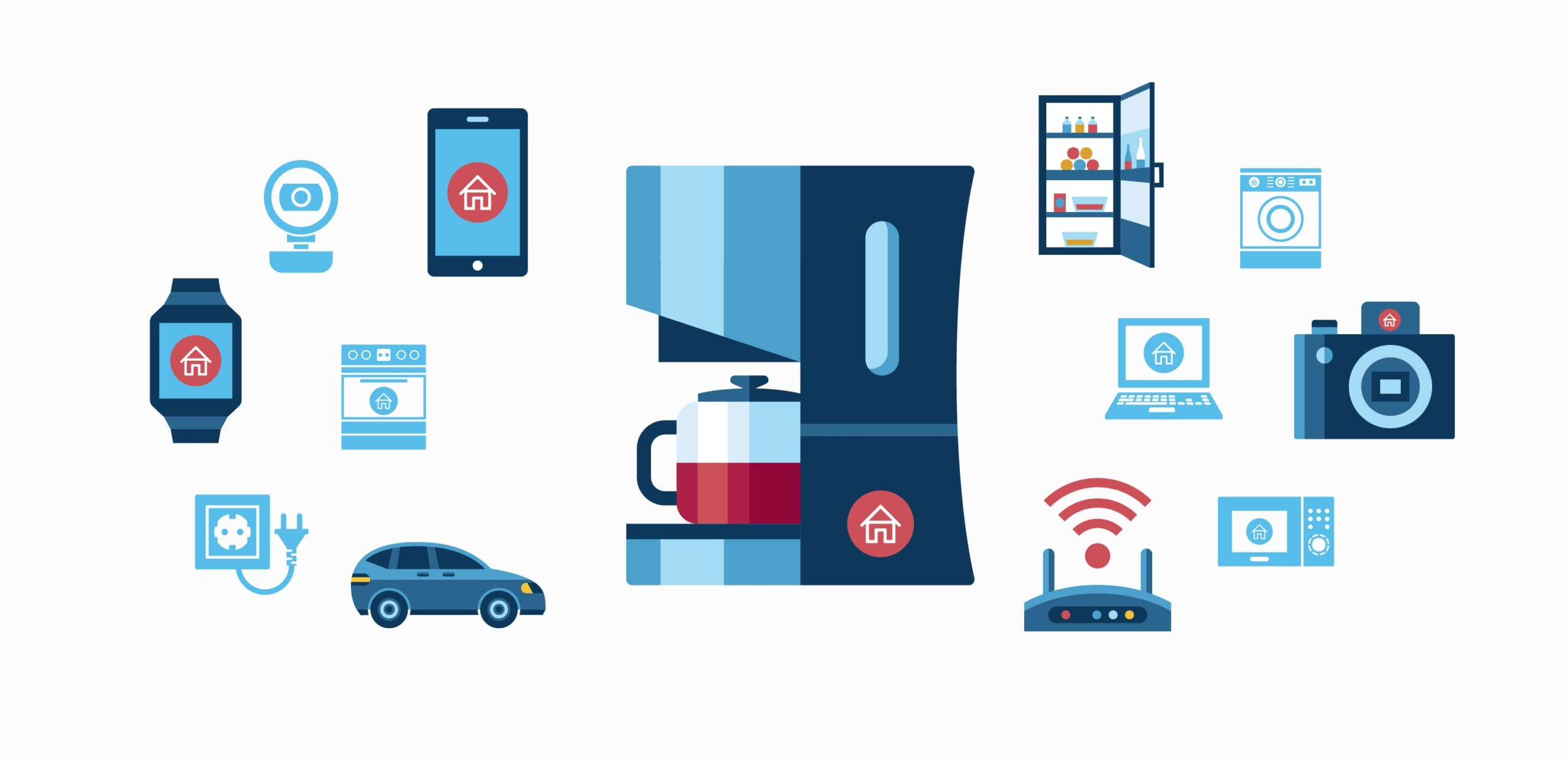 Consumer Internet of Things Illustrated Image