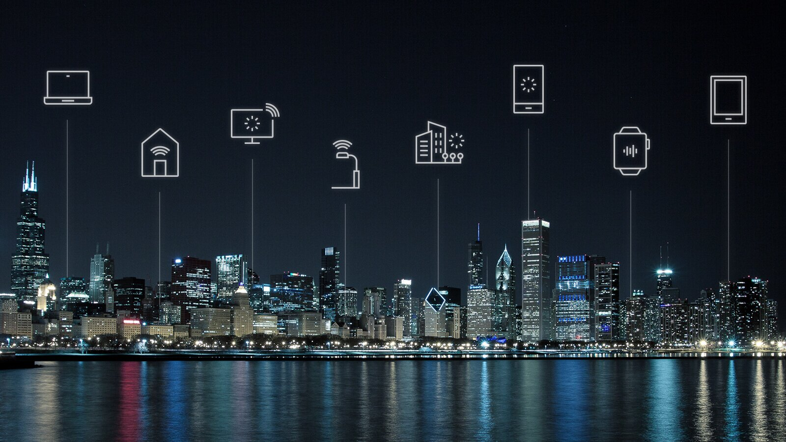 Internet of things connected city
