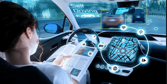 do self-driving cars use ai