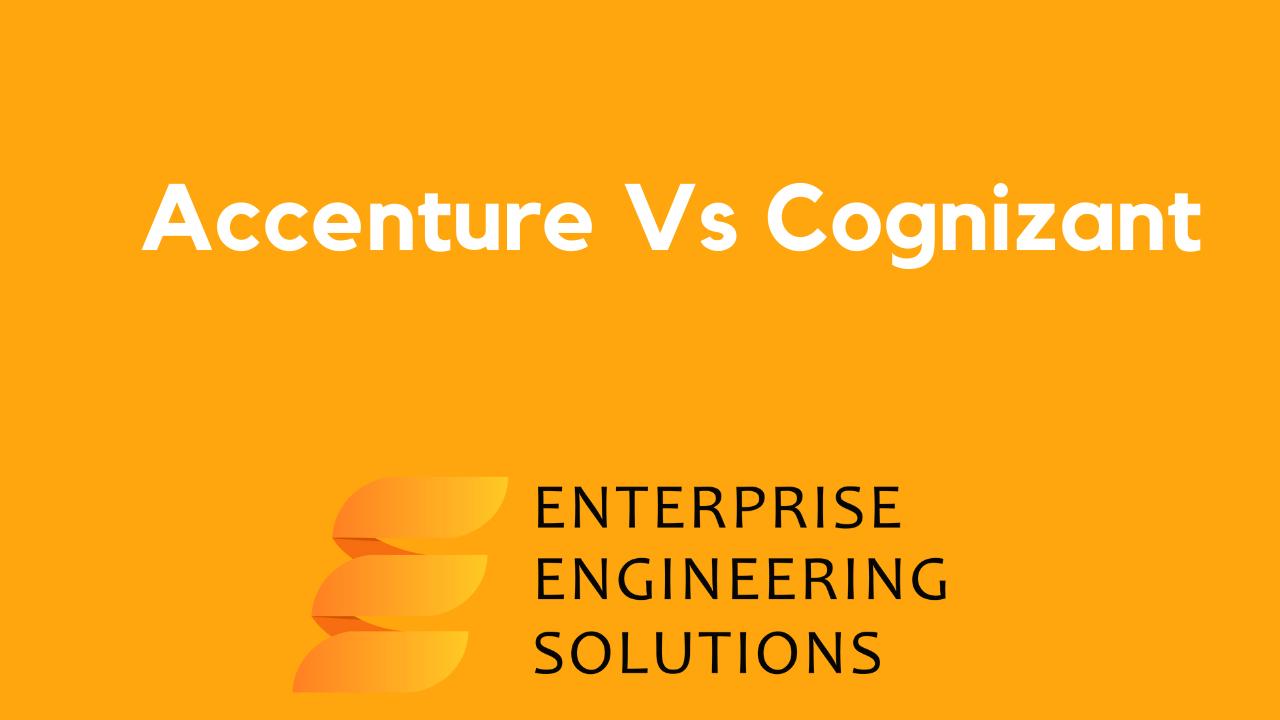 Accenture Vs. Cognizant