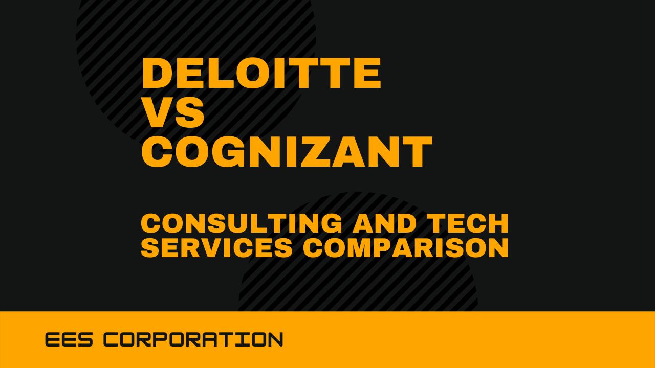 Deloitte vs Cognizant