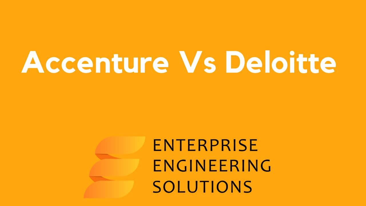 Accenture Vs Deloitte