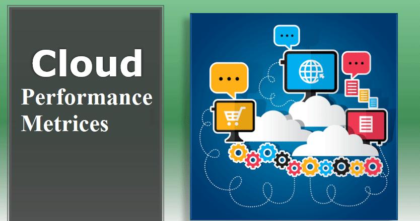 cloud computing performance metrics