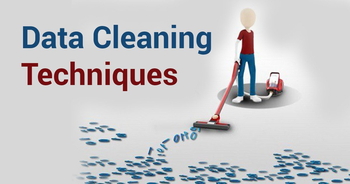 data cleaning techniques